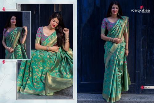 Manjuba Saree 1104 Colors
