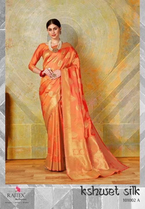 Rajtex Kshwet Silk 101002 Colors Sarees