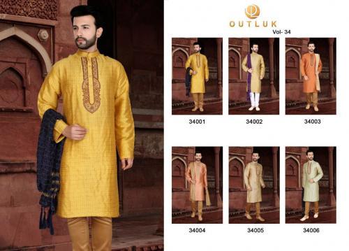 Kurta Pajama Outlook 34001-34006 Price - 7197