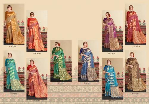 Yadu Nandan Fashion Kranti Silk 29765-29774 Price - 12050
