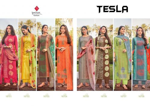 Tanishk Fashion Tesla 16701-16708 Price - 4360