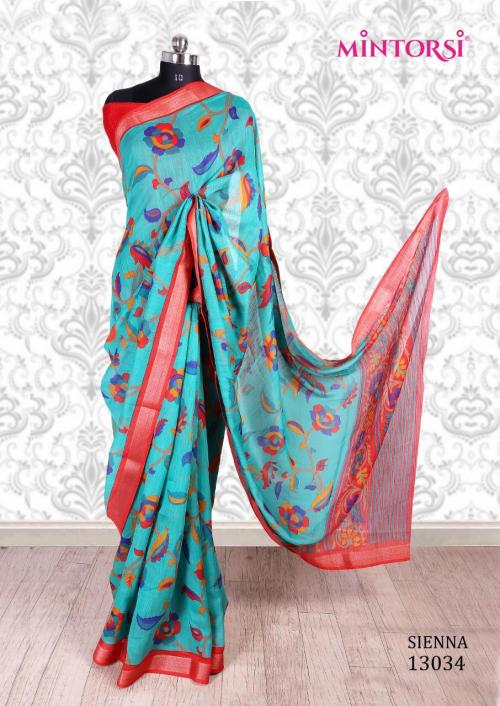 Mintorsi Saree Sienna 13034 Price - 670