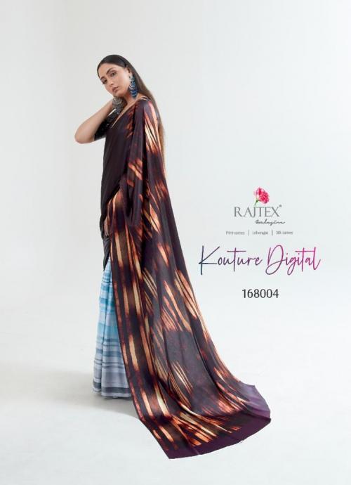 Rajtex Saree Kouture Digital 168004 Price - 1005