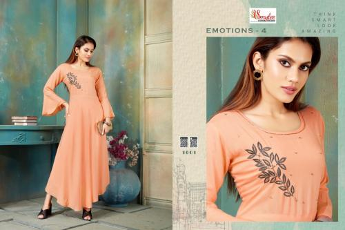 Smylee Fashion Emotions Vol-4 1001-1008 Series