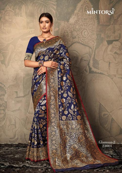 Mintorsi Saree Glamour 2 23001-23005 Series