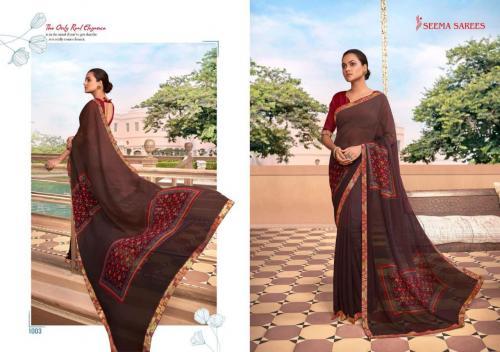 Seema Saree Soch 1003 Price - 475