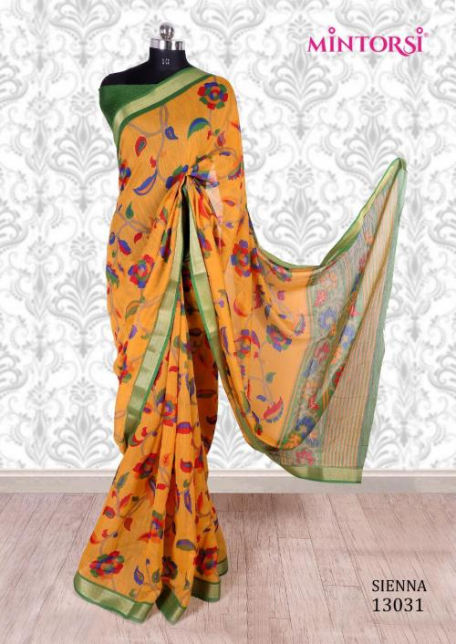 Mintorsi Saree Sienna 13031 Price - 670