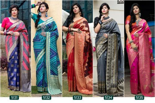 Shub Vastra Rajwadi 5131-5135 Price - 7495