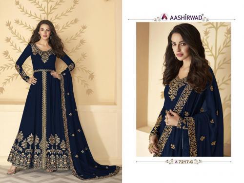 Aashirwad Creation Gulkand Pakhi 7217 C Master Colors Price - 1700