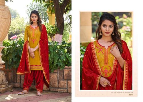 Kessi Fabrics Patiyala House Vol-82 5741-5748 Series