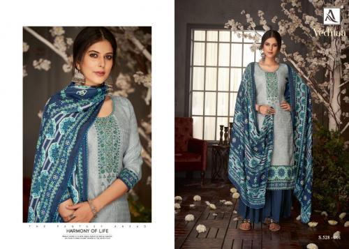 Alok Suits Veditaa 528-001-528-010 Series