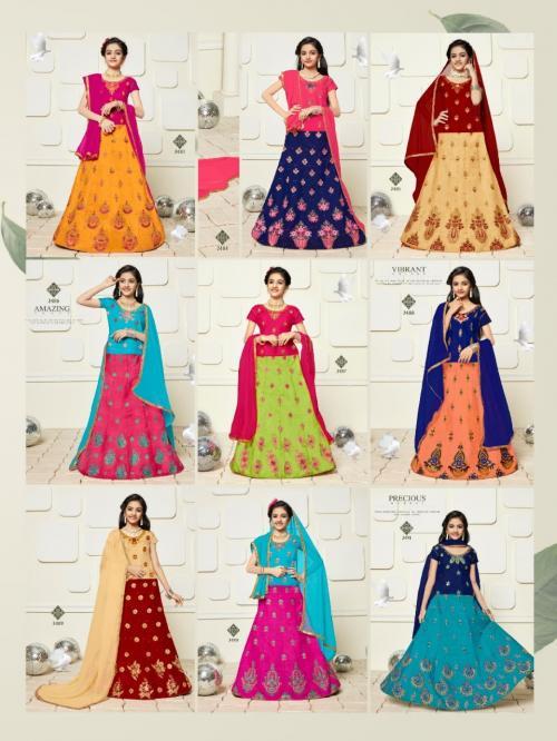 Sanskar Style Baby Doll 2483-2491 Price - 8055
