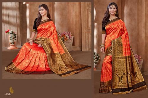 Jyotsana Saree Kanjivaram Silk 1606 Price - 2250