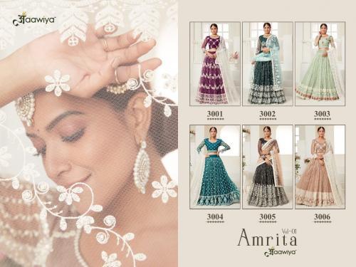Aawiya Amrita 3001-3006 Price - 19161
