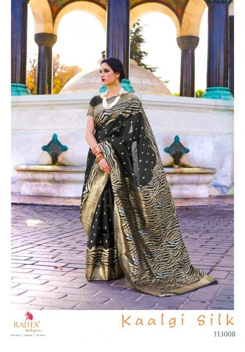 Rajtex Saree Kaalgi Silk 113008 Price - 1560