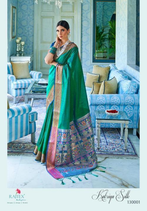 Rajtex Saree Katriya Silk 130001-130006 Series