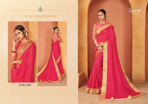 Saroj Saree Quality 1001-1008 Series