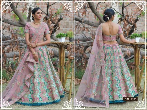 Peafowl Vol-76 Bridal Lehenga 1125 Price - 3533