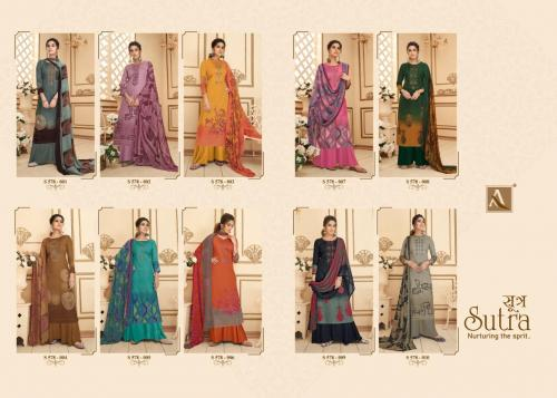 Alok Suits Sutra 578-001 to 578-010 Price - 7850