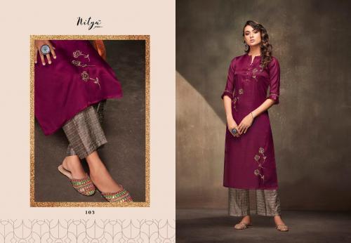 LT Fabrics Nitya Feyre 103 Price - 1150
