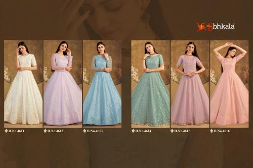 Shubhkala Flory 4611-4616 Price - 6600