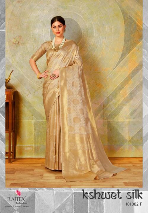 Rajtex Kshwet Silk 101002 F Price - 1460