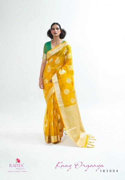 Raj Tex Kaaz Organza 183004 Price - 1725