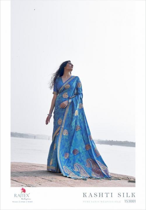 Rajtex Saree Kashti Silk 153001 Price - 1615
