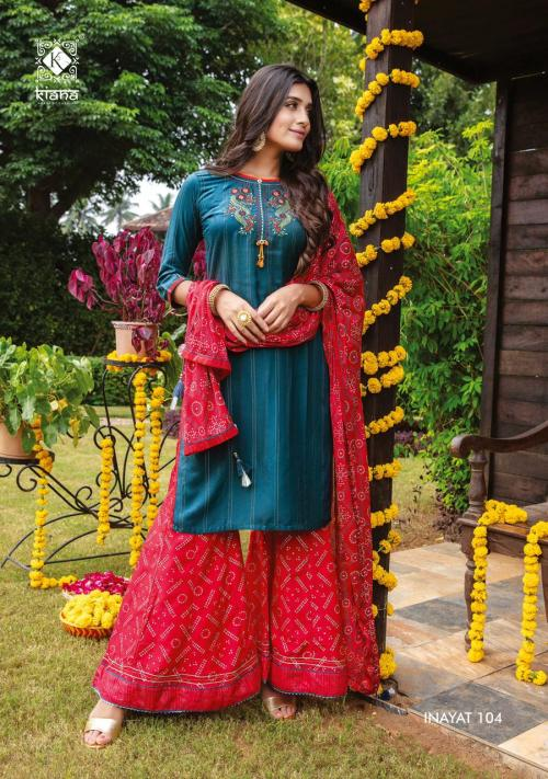 Kiana Fashion Inayat 104 Price - 1140