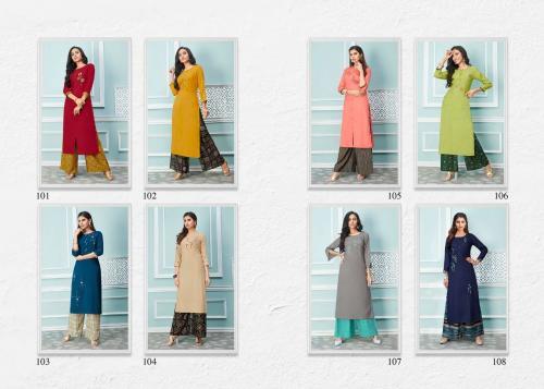 LT Fabrics Glory 101-108 Price - 6400