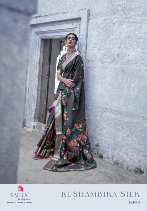 Rajtex Saree Kushambika Silk 154004 Price - 1880