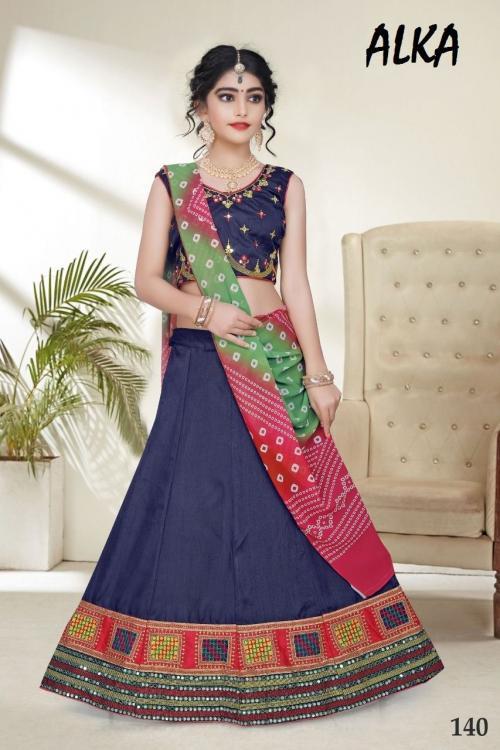 Alka Children Wear Navratri Collection 140 Price - 1549