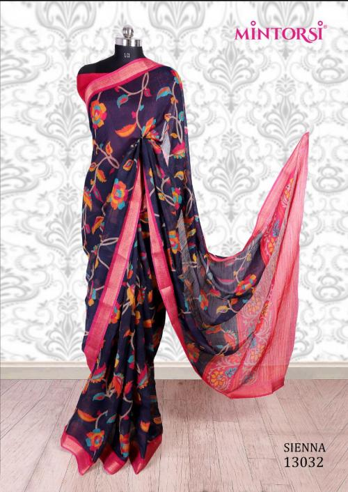 Mintorsi Saree Sienna 13032 Price - 670