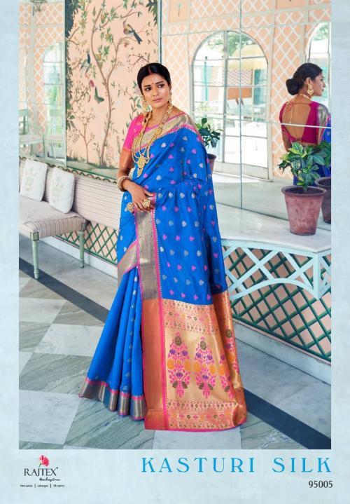 Rajtex Kasturi Silk 95005 Price - 1295