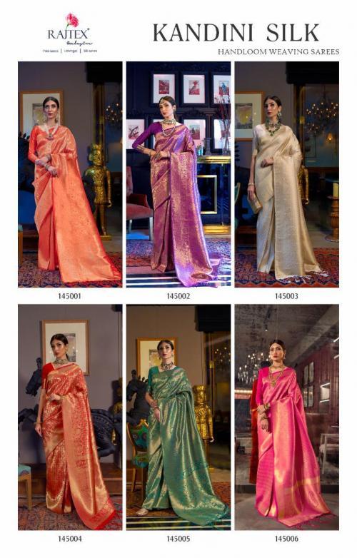 Rajtex Saree 145001-145006 Price - 9360