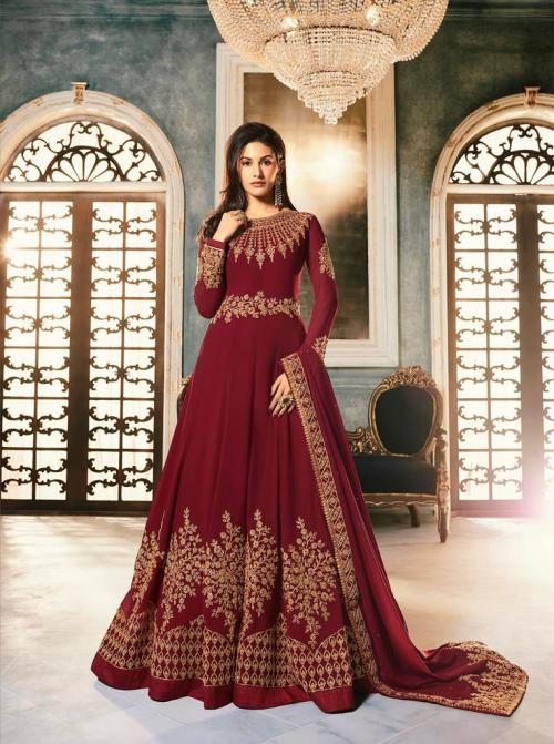 Glossy Simar Amyra Abha Color Plus 9054 ABC Series