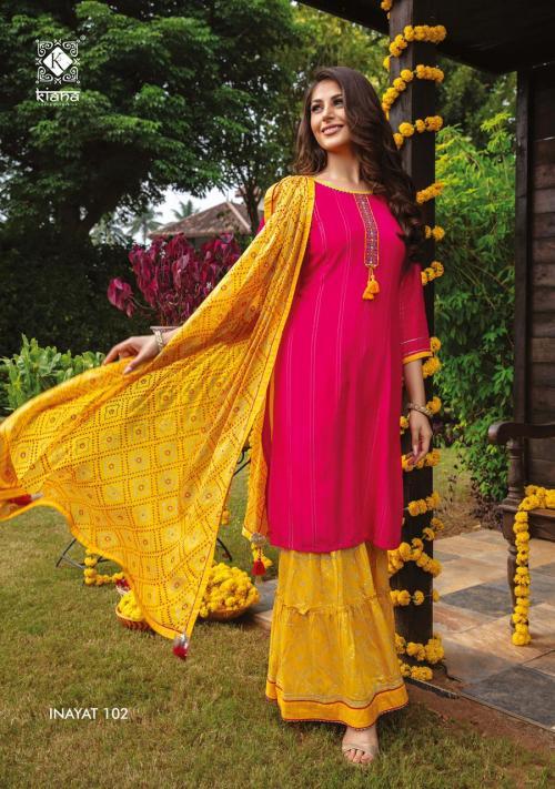 Kiana Fashion Inayat 102 Price - 1140