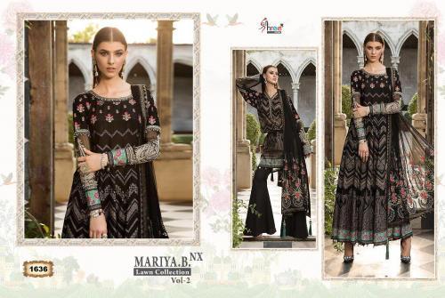 Shree Fabs Mariya B Lawn Collection 1636