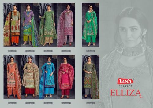 Jash Suits Eliza 6001-6011 Price - 4400