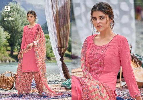 Alok Suits Patiyala Fusion 1725-003 Price - 700