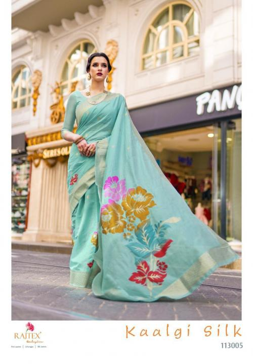 Rajtex Saree Kaalgi Silk 113005 Price - 1560
