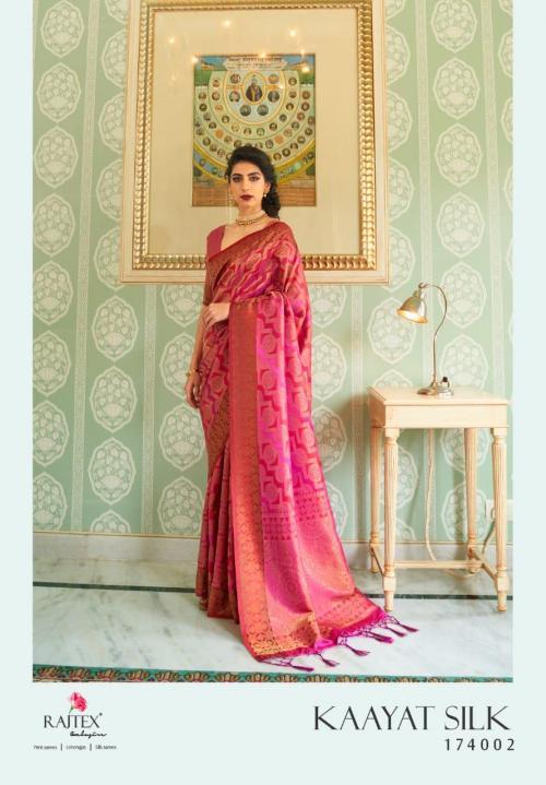 Rajtex Saree Kayaat Silk 174002 Price - 1695