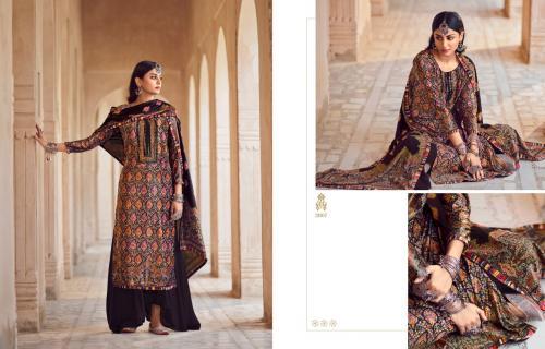 Meera Trendz Charmy Velvet 2907 Price - 1395