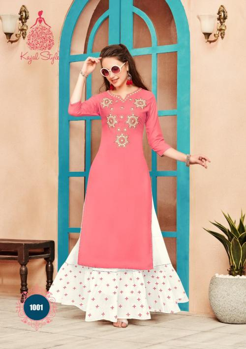 Kajal Style Fashion Paradise Vol-1 1001-1010 Series