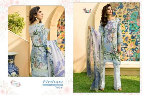 Shree Fab Firdous Exclusive Collection Vol-6 7011-7017 Series