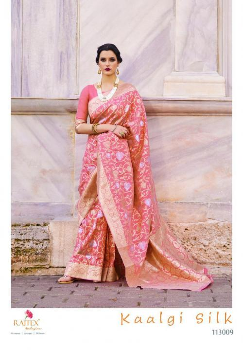 Rajtex Saree Kaalgi Silk 113009 Price - 1560