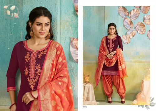 Kessi Fabrics Silk Patiyala 5372 Price - 999