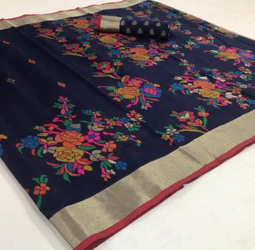 Rajtex Saree Kushambika Silk 154002 Price - 1880