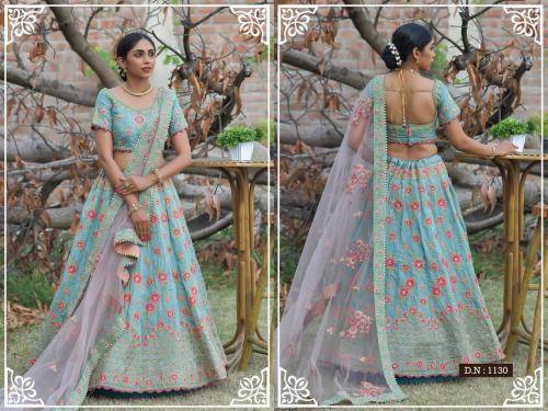 Peafowl Vol-76 Bridal Lehenga 1130 Price - 3533