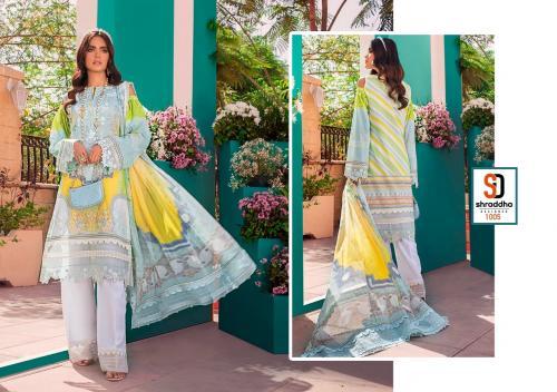 Shraddha Designer Vintage 1005 Price - Chiffon Dup-625 , Cotton Dup-675